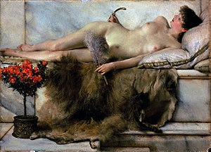 Tepidarium - The Tepidarium (1881), by Sir Lawrence Alma-Tadema