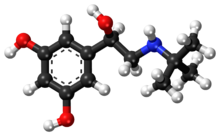 Terbutaline ball-and-stick model.png