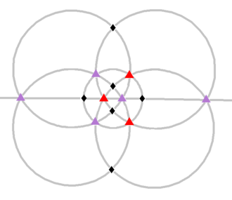 Polyhedral group - Image: Tetrakis hexahedron stereographic D2 gyrations