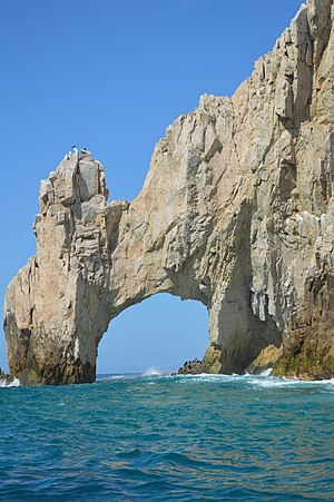 Baja California Sur - The arch at Land's End, Cabo San Lucas