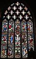 The Benedictus window in St Oswald's Church, Ashbourne.jpg