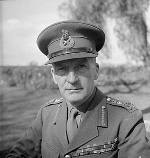 John Dill - Sir John Dill in Egypt, 18 February 1941.