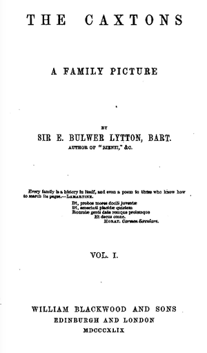 The Caxtons cover