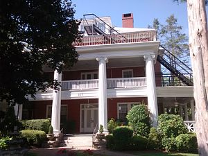 National Register of Historic Places listings in Henderson County, North Carolina - Image: The Cedars (Hendersonville)