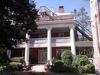 The Cedars (Hendersonville, North Carolina) - The Cedars, September 2014