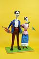 The Childrens Museum of Indianapolis - Kahlo Rivera Day of the Dead sculptures - Linares.jpg