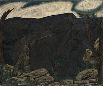 Marsden Hartley - Image: The Dark Mountain, No. 2 Marsden Hartley
