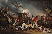 Battle of Princeton by John Trumbull