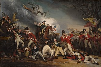 The Death of General Mercer at the Battle of Princeton, January 3, 1777 - Image: The Death of General Mercer at the Battle of Princeton January 3 1777