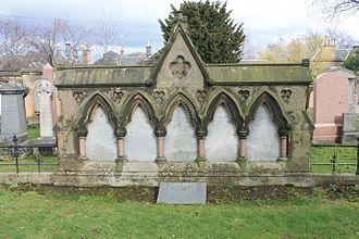 Thomas Dick Lauder - The Dick Lauder family plot, Grange Cemetery, Edinburgh