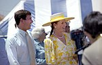 The Duke and Duchess of York in Townsville, 1988.jpg