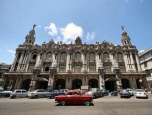 International Ballet Festival of Havana - Great Theater of Havana opera house. Home of the International Festivals