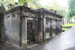 Alexander Hamilton (Scottish physician) - The Hamilton vault, St Cuthbert's Churchyard, Edinburgh