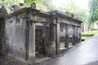 James Hamilton (physician) - The Hamilton vault, St Cuthbert's Churchyard, Edinburgh