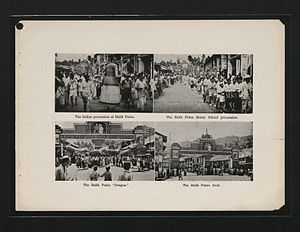 Balik Pulau - A gallery of images depicting the various cultural processions in Balik Pulau in the 1930s.