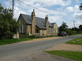 Chittering, Cambridgeshire - Image: The Old Schoolhouse, Chittering geograph.org.uk 1448243