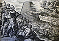 The Phillip Medhurst Picture Torah 74. Tower of Babel. Genesis cap 11 vv 1, 9. Jode.jpg