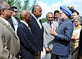 The Prime Minister, Dr Manmohan Singh meets with the families of victims during his Air India Memorial visit, at Toronto, in Canada on June 28, 2010 (2).jpg