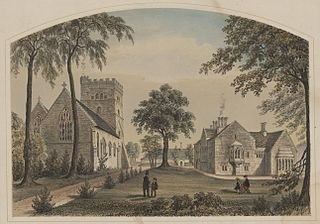 The Priory and Church, Usk