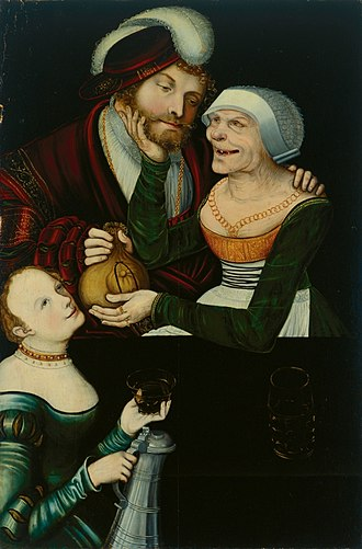 "Art Museum of Georgia - ""The Procuress"", a 16-century painting by Lucas Cranach the Elder was stolen and remained missing for a decade until 2004, when it was returned to the Georgian Art  Museum."