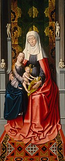 The Saint Anne Altarpiece Saint Anne with the Virgin and Child E10533.jpg