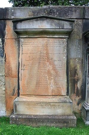 David Alan Stevenson - The Stevenson family grave, Dean Cemetery, Edinburgh