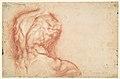 The Virgin Adored by Saints (recto); Study of the Torso Belvedere (verso) MET DP114944.jpg