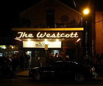 The Westcott Theater - Image: The Westcott Theater, 524 Westcott St., Syracuse, New York 2014 12 01 20.14.59 (by cp thornton)