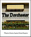 The beautiful Dorchester Hotel in London Mayfair, England United Kingdom. One of the most recognized and luxurious hotels on the planet. Enjoy! ) (4579366779).jpg