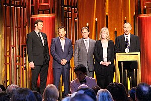 The Americans (2013 TV series) - Members of the cast and crew at the 74th Annual Peabody Awards