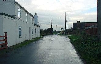 Balne - Image: The crossroads, Balne Village