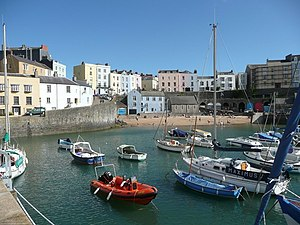 Tenby - Image: The harbour, Tenby geograph.org.uk 1016019