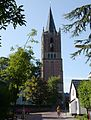 The protestant church with nice tower, anno 1535, at Houten - panoramio.jpg