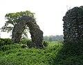 The ruins of St Saviour's church - east end - geograph.org.uk - 1280784.jpg