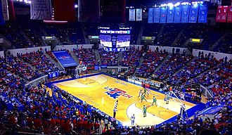 Louisiana Tech Lady Techsters basketball - Thomas Assembly Center