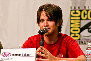 Thomas Dekker (actor) - On a panel at the 2008 Comic-Con