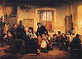 Thomas Faed - Visit to the Village School.JPG