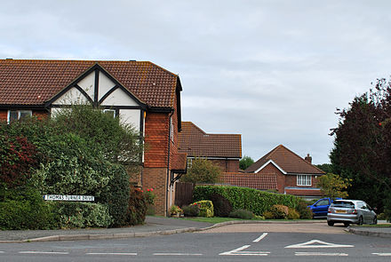 Thomas Turner Drive in East Hoathly Thomas Turner Drive East Hoathly.JPG
