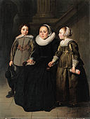 Thomas de Keyser - Portrait of a seated woman and two children 1635 - d1449352x.jpg