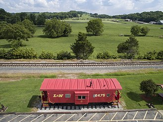 Thompson's Station, Tennessee - Thompson's Station Caboose