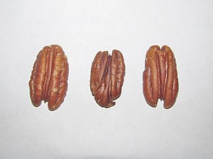 Three pecans