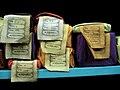 Tibetan books at a library, McLeod Ganj.jpg