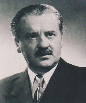Zoltán Tildy - Zoltán Tildy in 1946