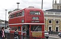 Timebus Travel RML class Routemaster, wedding hire, London Bridge, 5 September 2009.jpg