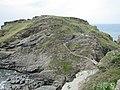 Tintagel Castle, Cornwall (461286) (9456492087).jpg
