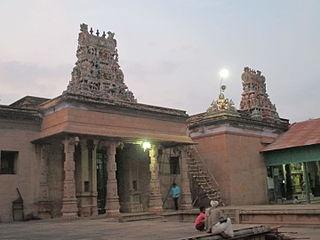 Edaganathar temple temple in India