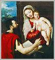 Tiziano Vecellio (1488-1576) Mária gyermekével és Szent Pállal.jpg