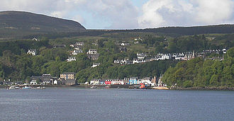 Tobermory, Mull - Tobermory, Mull – as viewed from the Sound of Mull