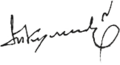 Tofig Guliyev's signature.png