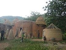 Togo-Culture-Togo Taberma house 04